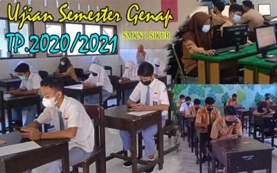 PELAKSANAAN UJIAN SEMESTER GENAP TP.2020/2021